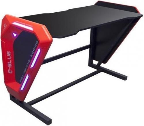 Biurko E-Blue dla gracza 125x62x80,8 cm, podświetlenie