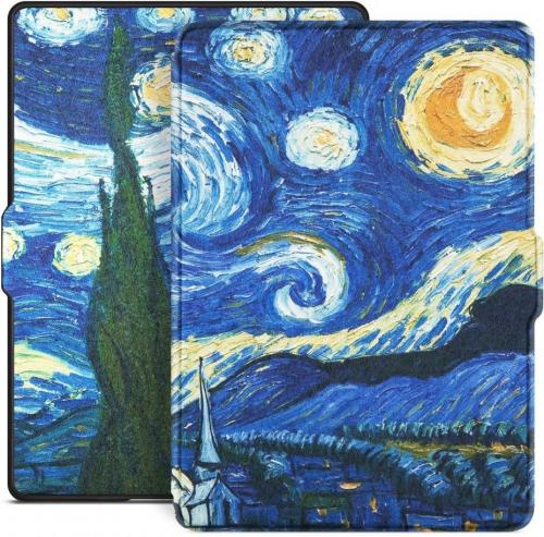 Pokrowiec Tech-Protect Smartcase do Kindle Paperwhite 1/2/3 Starry night
