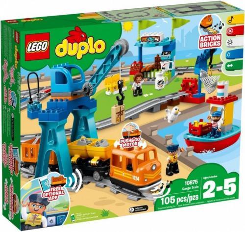 LEGO DUPLO Pociąg Towarowy ( 10875 )