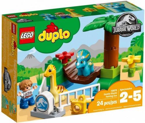 LEGO Duplo Jurassic World Minizoo Łagodne Olbrzymy