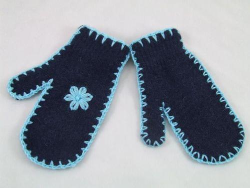 Art of Polo Rękawczi damskie Jednopalczaste granatowo-niebieskie