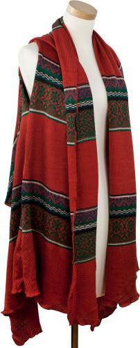 Art of Polo Kamizelka damska Indian vibes ruda r. uniwersalny