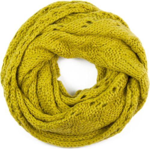 Art of Polo Komin damski Twój otulacz żółty
