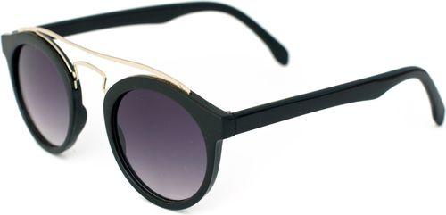 Art of Polo Okulary przeciwsłoneczne Gigi czarno-srebrne