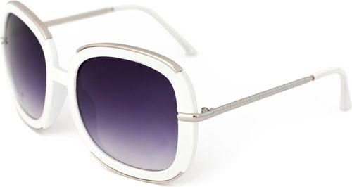 Art of Polo Okulary przeciwsłoneczne Miranda biało-srebrne