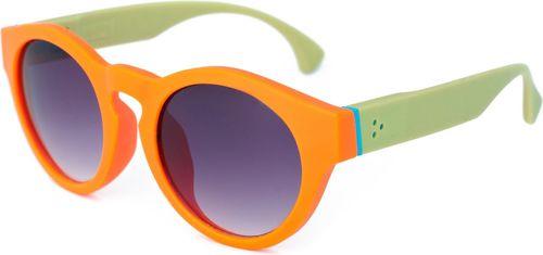 Art of Polo Okulary przeciwsłoneczne Naomi pomarańczowo-zielone