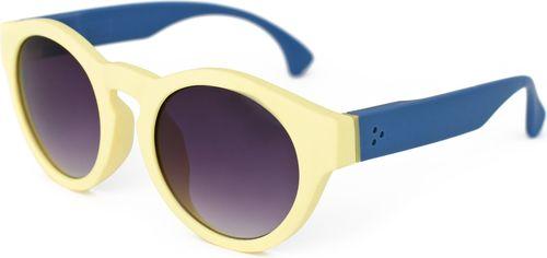 Art of Polo Okulary przeciwsłoneczne Naomi zółto-niebieskie