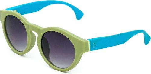 Art of Polo Okulary przeciwsłoneczne Naomi zielono-niebieskie