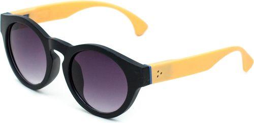 Art of Polo Okulary przeciwsłoneczne Naomi czarno-pomarańczowe