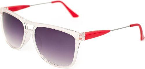 Art of Polo Okulary przeciwsłoneczne Sierra biało-czerwone