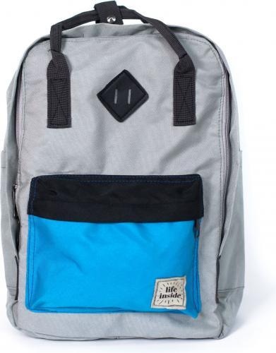 Art of Polo Plecak sportowy Hipster Life niebiesko-szary