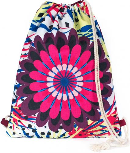 Art of Polo Plecak Mandala biało-różowy