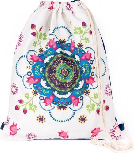 Art of Polo Plecak damski Mandala biały