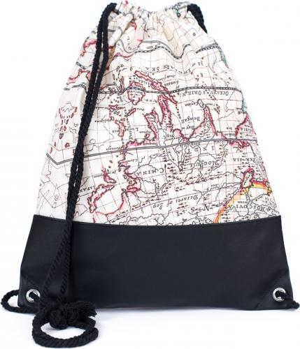 Art of Polo Plecak damski Old map biały