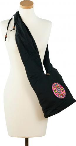 Art of Polo Torebka Mandala czarno-różowa
