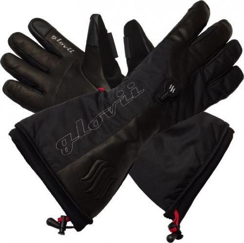 Glovii Ogrzewane rękawice narciarskie GS9 czarne r. M