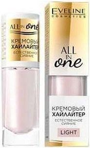 Eveline All in One Kremowy Rozświetlacz w płynie Light  8ml