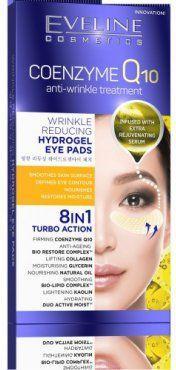 Eveline Coenzyme Q10 Przeciwzmarszczkowe Płatki hydrożelowe pod oczy 8w1 2szt