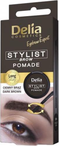 Delia Eyebrow Expert Pomada do brwi Dark brown