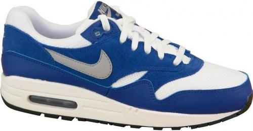 Nike Buty damskie Air Max 1 Gs biało-niebieskie r. 38 (555766-111)