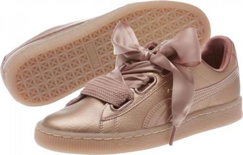 Puma Buty damskie Basket Heart Copper różowe r. 38 (365463-01)