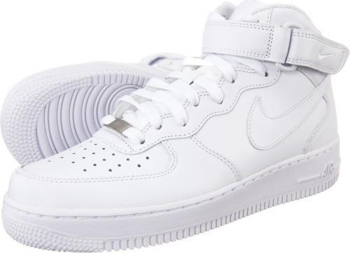 Nike buty męskie Air Force 1 Mid 07 białe r. 44.5 (315123-111)