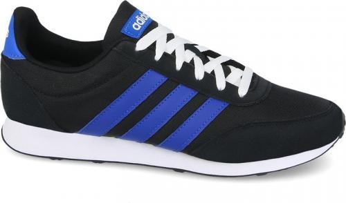 Adidas Buty męskie V Racer 2.0 czarno-niebieskie r. 44 2/3 (DB0429)