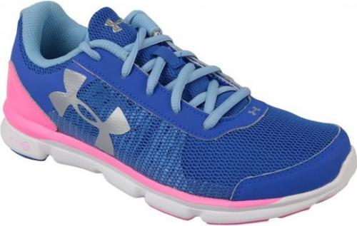Under Armour Buty damskie Micro G Speed Swift K  niebieskie  r. 35,5 (1266305-400)
