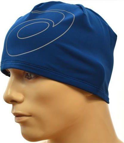 Asics Czapka zimowa męska Logo Running niebieska (C1050)