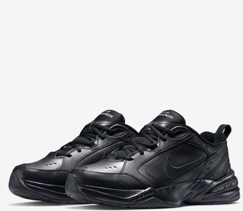 Nike Buty męskie Monarch IV czarne r. 42 (415445-001)