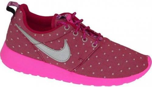 Nike Rosherun Print Gs 677784-606  różowe 38