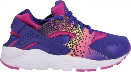 Nike Buty damskie Huarache Run Print Gs  fioletowe r. 38.5 (704946-500)