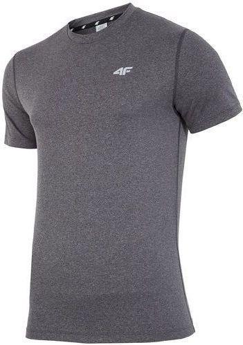 4f Koszulka męska H4Z17-TSMF001 szara r. M