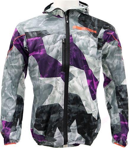 Adidas Kurtka męska Terrex Agravic Wind Jacket szaro-fioletowa r. M (S09350)