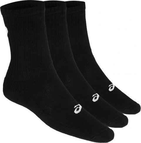 Asics Skarpety męskie 3PPK Crew Sock czarne r. 47-49 (155204-0900)