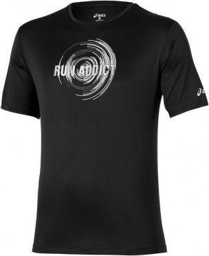 Asics Koszulka męska Short Sleeve Tee czarna r. XXL (125141-0939)