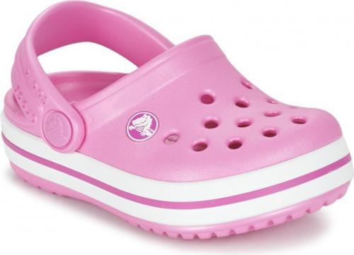 Crocs Klapki dziewczęce Crocband Clog K 204537-6U9 różowe r. 33 34 w ... 976d2ed2b1