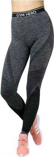 GymHero Spodnie damskie Leggins Grapple szare r. L