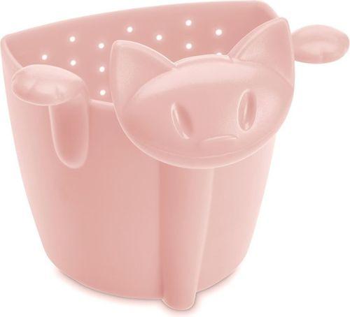 Koziol Zaparzaczka do herbaty kotek Koziol MIAOU pastelowy róż KZ-3236638