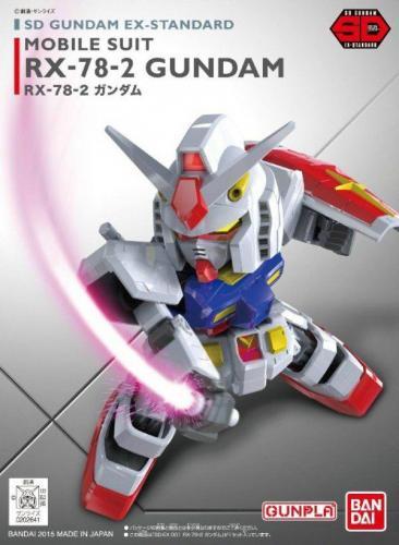 SD Gundam BANDAI Rx-78-2