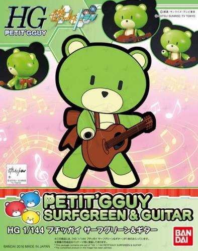 Gundam 1/144 HG  Petitgguy SurfGreen & Guitar