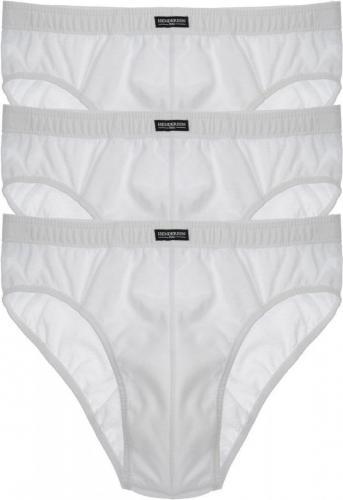 Esotiq & henderson Slipy męskie CLASSIC K121/1446, 3-pack, białe r. 2XL