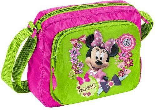 Paso Torebka na ramię dziecięca Minnie różowo-zielona (DNT-308)