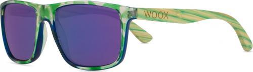 Woox Okulary przeciwsłoneczne Contrasol Bambusa Chloris zielone