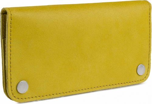 Woox Portfel damski Moneta Triviala Lutea żółty