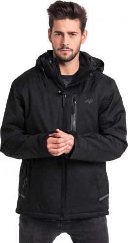 4f Kurtka narciarska męska H4Z18-KUMN006 czarna r. XL