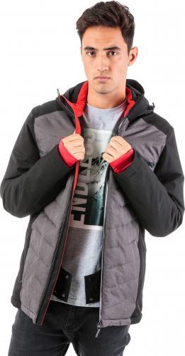 4f Kurtka narciarska męska H4Z18-KUMN005 czarna r. XXL