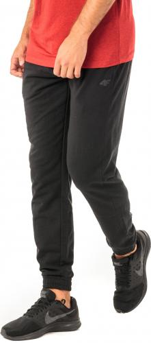 4f Spodnie męskie H4Z18-SPMD001 czarne r. M
