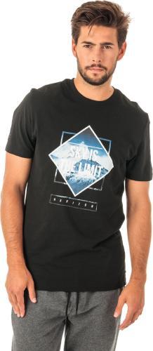 4f Koszulka męska H4Z18-TSM021 czarna r. L