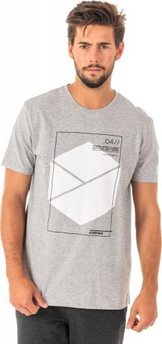 4f Koszulka męska H4Z18-TSM005 szara  r. M